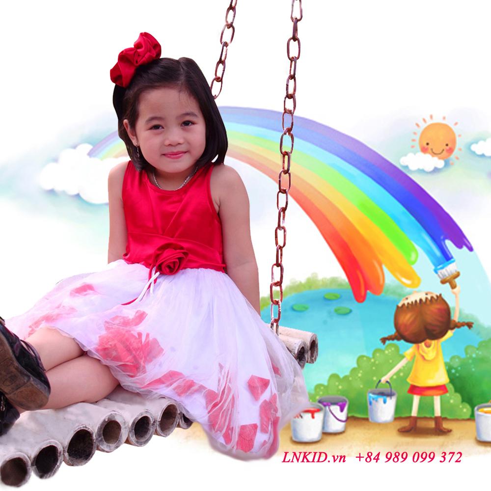 Lựa chọn đầm công chúa sành điệu dành cho bé